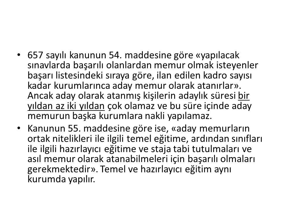 657 sayılı kanunun 54.