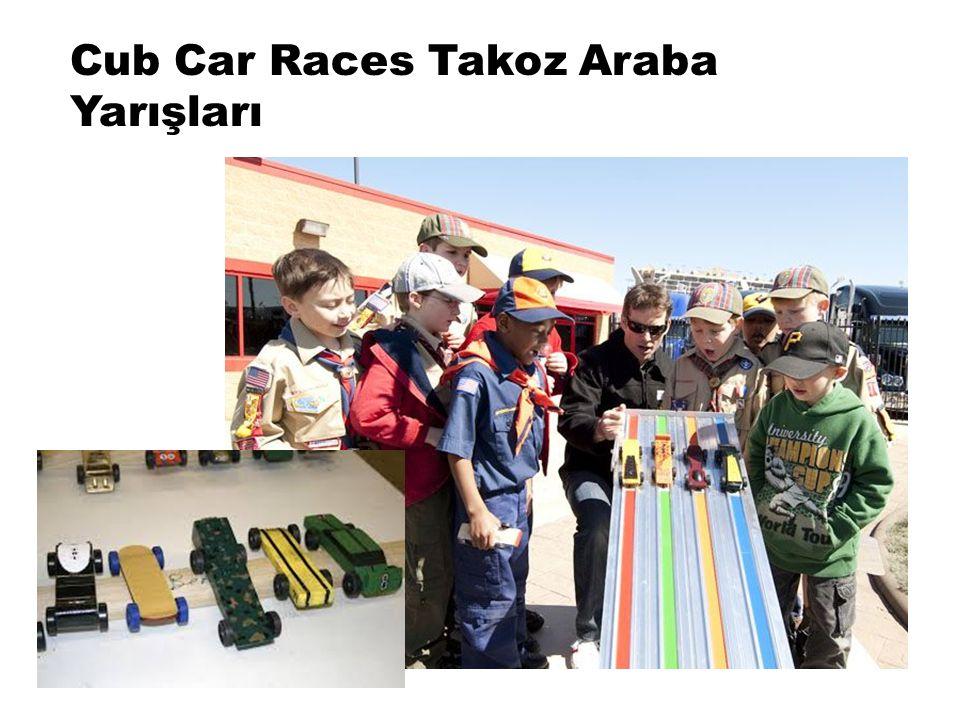 Cub Car Races Takoz Araba Yarışları