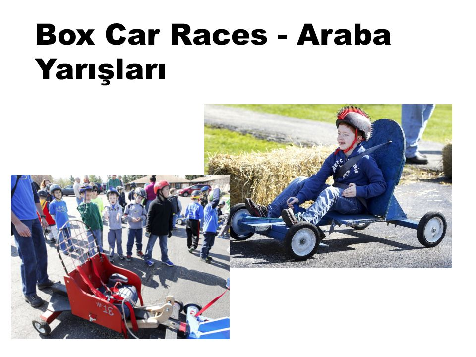 Box Car Races - Araba Yarışları