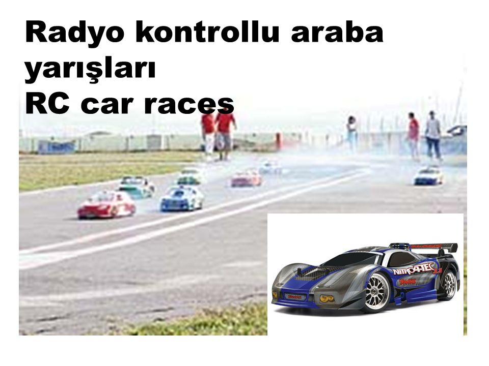 Radyo kontrollu araba yarışları RC car races
