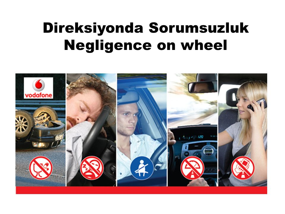 Direksiyonda Sorumsuzluk Negligence on wheel