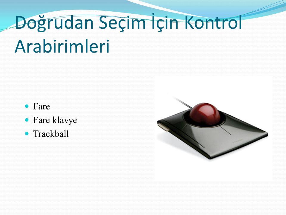 Fare Fare klavye Trackball