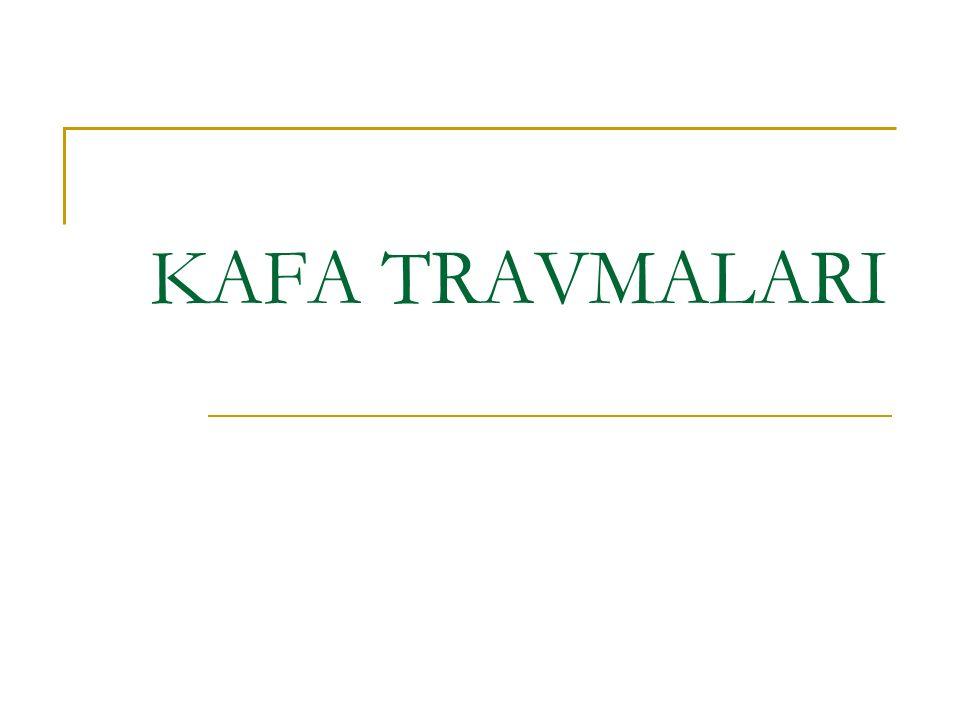 KAFA TRAVMALARI