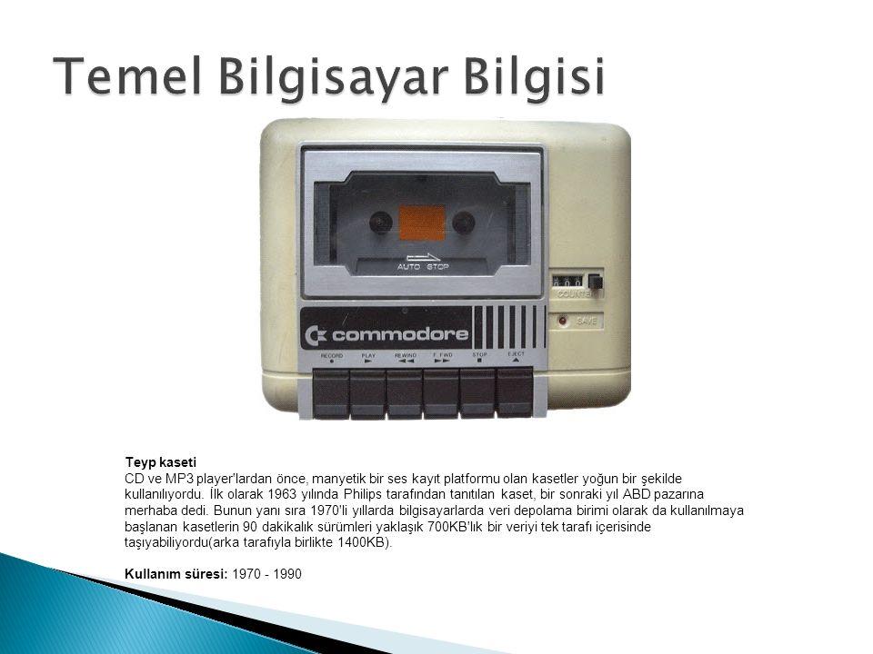 Teyp kaseti CD ve MP3 player lardan önce, manyetik bir ses kayıt platformu olan kasetler yoğun bir şekilde kullanılıyordu.