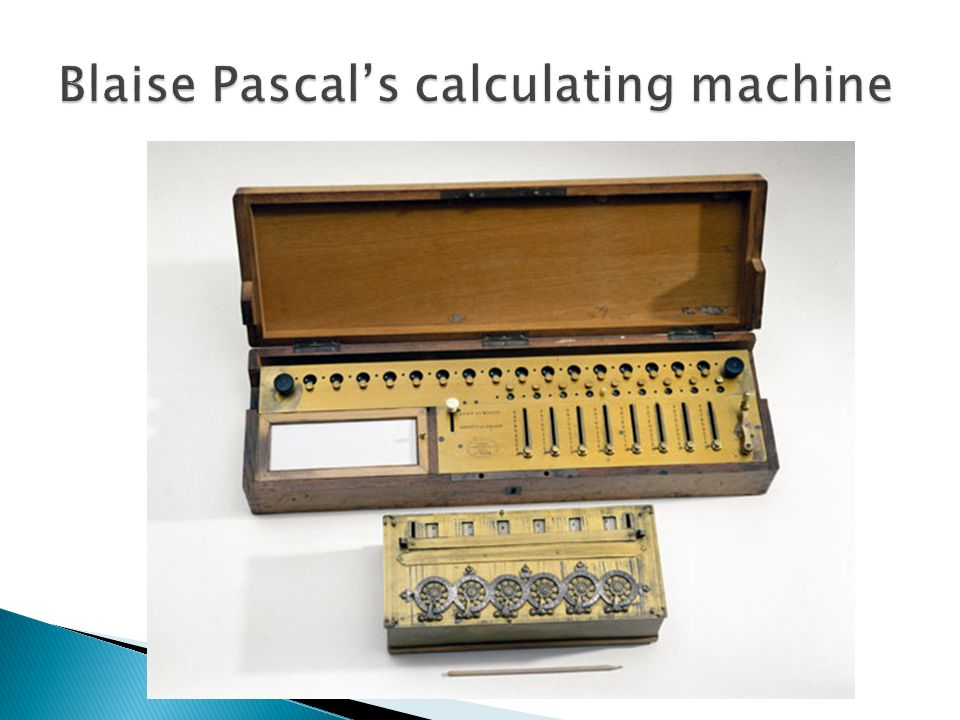 the early education and works of blaise pascal