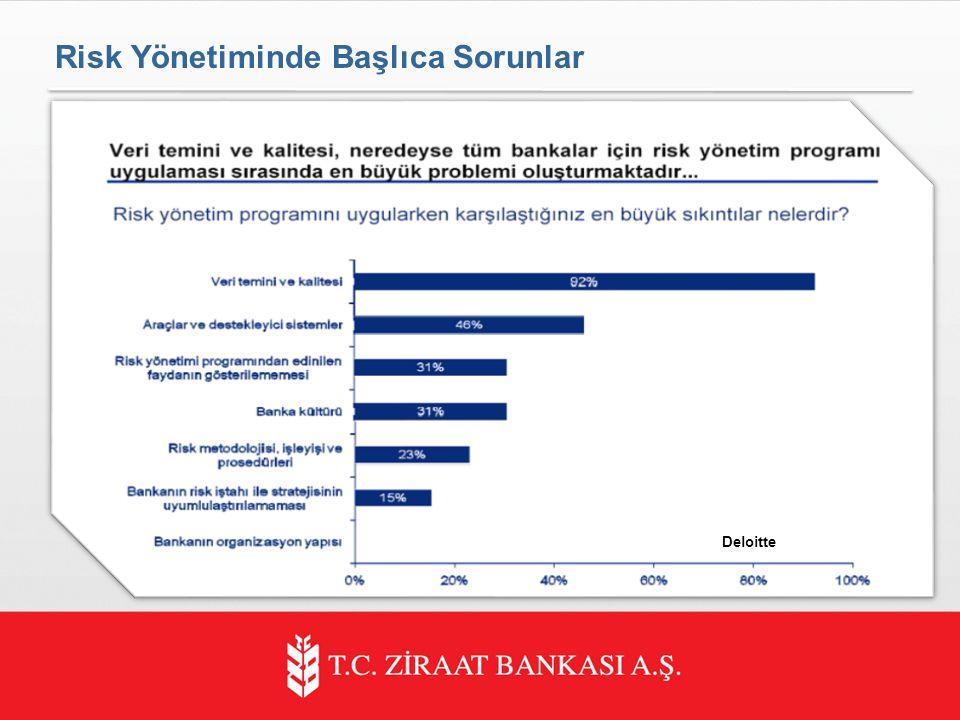 Risk Yönetiminde Başlıca Sorunlar Deloitte