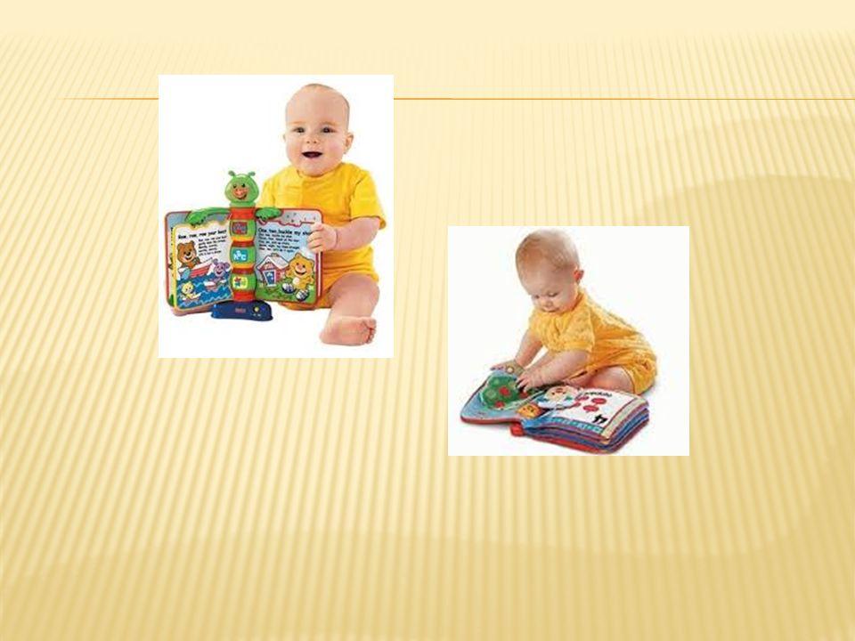  Bunları unutmayın: Bebekler iri resimli kitaplardan hoşlanır.