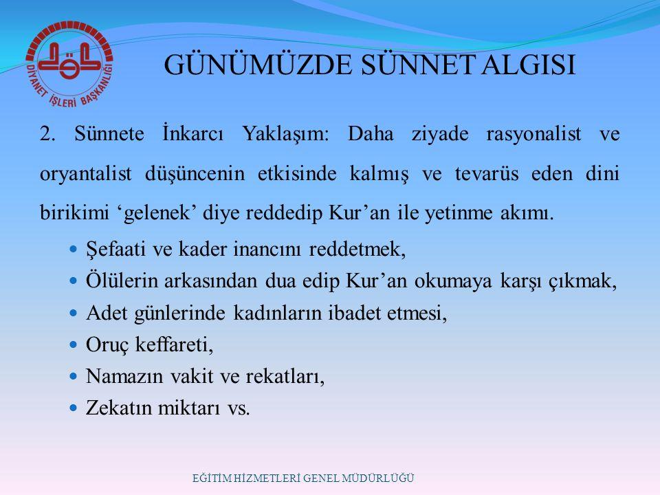 GÜNÜMÜZDE SÜNNET ALGISI 2.