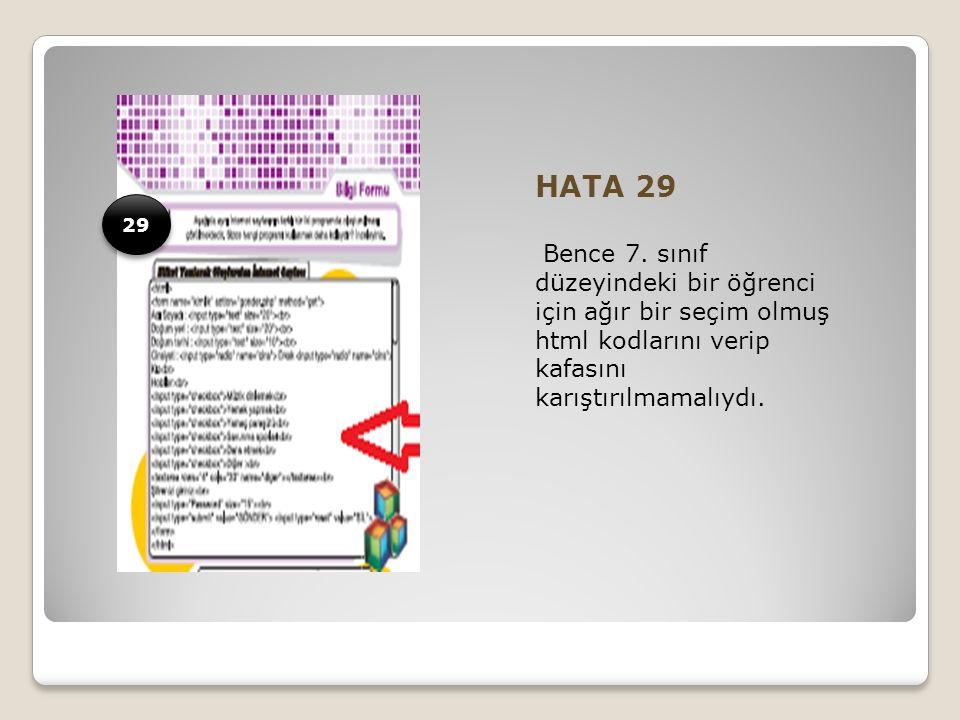 HATA 29 Bence 7.