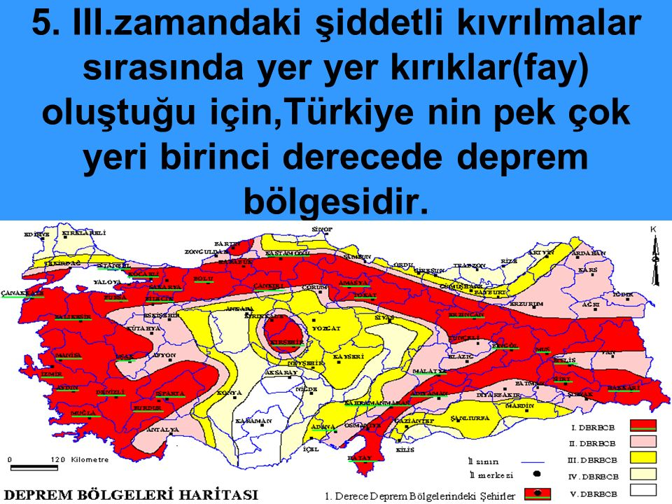 Türkiye'de Buzulların Oluşturduğu Yer şekilleri: Buzul: Yağan karın erimesi ve tekrar donması sonucu buzullar oluşur.
