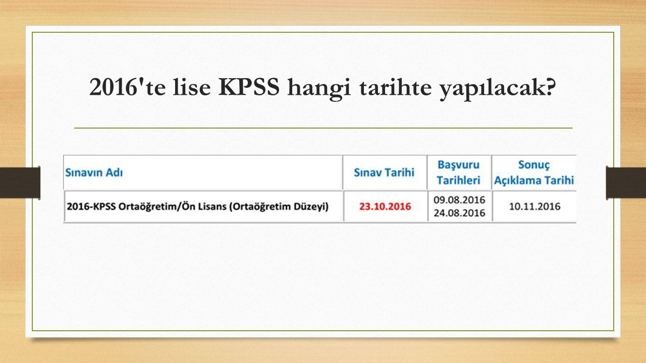 KPSS Puanı ile Yerleştirme Nasıl Yapılır.