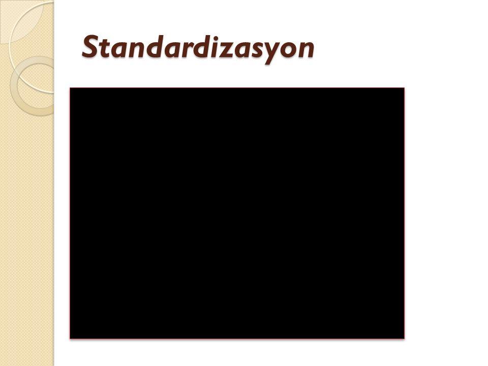 Standardizasyon