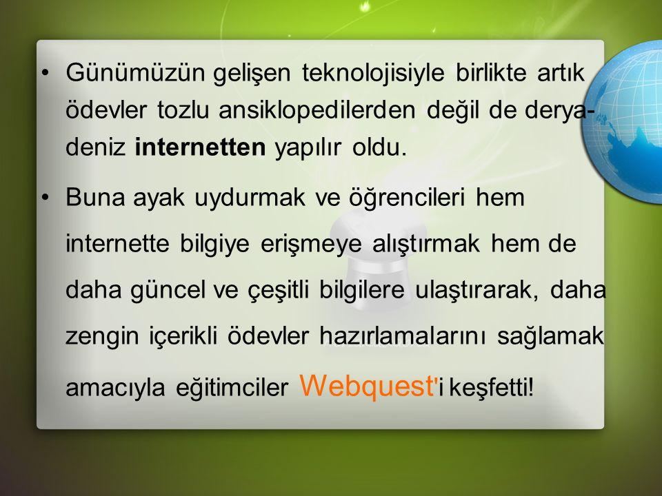 Web Quest Nedir.