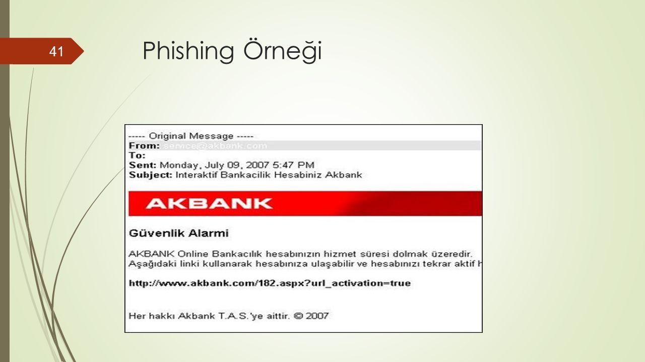 Phishing Örneği 41