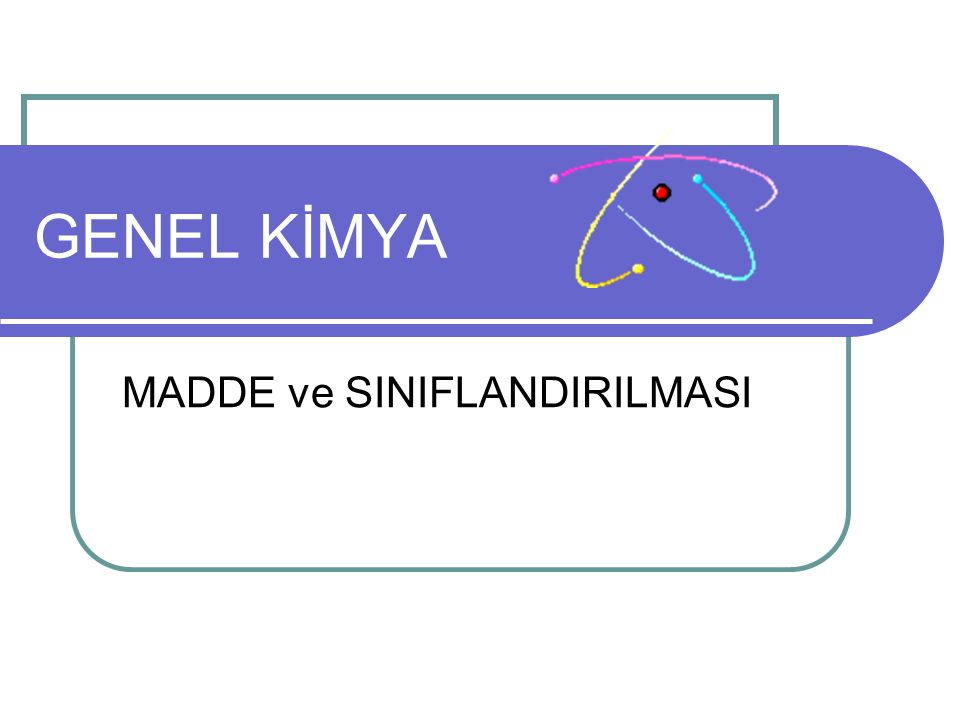 22 Maddenin Yapısı Maddedeki tanecikler: Atomlar Moleküller İyonlar