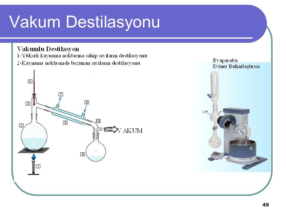 49 Vakum Destilasyonu