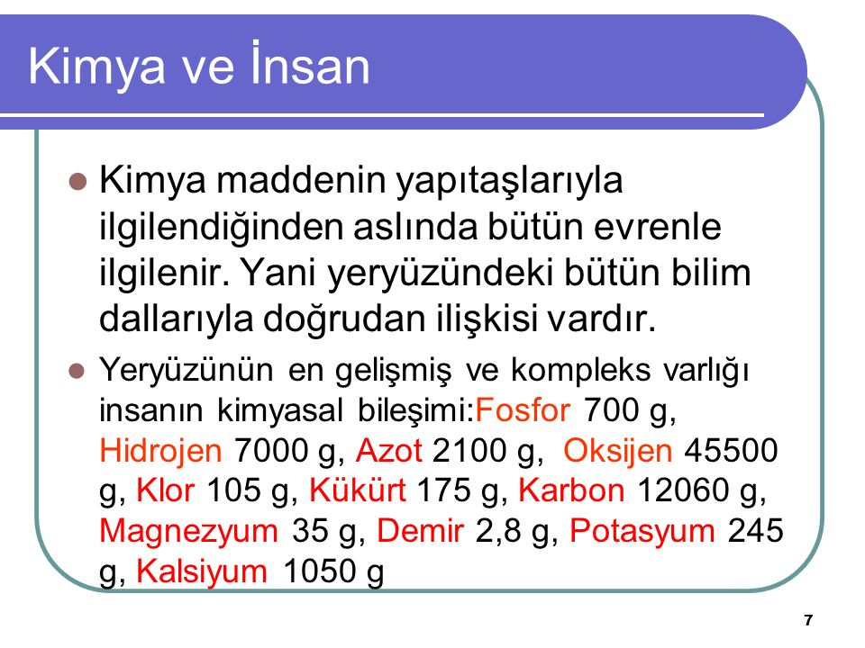 58 Maddenin ayırt edici özellikleri Nikelin öz kütlesi 8,9 g/cm3'tür.