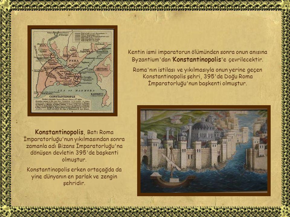Byzantion İmparator Vespasian döneminde hızlı bir Latinleştirme politikasına tabi tutulmuş, adı Latince 'Byzantium' olmuş ve Roma İmparatorluğu na tam bağlı önemli bir vilayet haline gelmiştir.