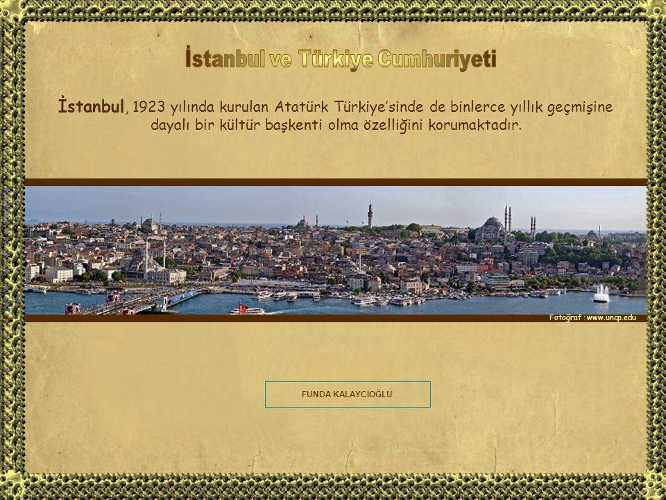 Fatih Sultan Mehmet'in 1453 yılında şehri alarak Orta Çağı kapatıp Yeni Çağı açmasının ardından 'Konstantiniyye' adını alan şehir, bu dönemde büyük bir cihan imparatorluğunun başkenti olmuştur, Üç kıtada yayılan toprakları 400 yıldan uzun süre hakimiyetinde bulundurmayı başarmıştır.