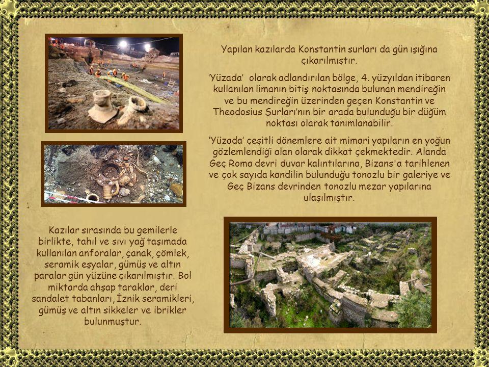 Yenikapı'daki Marmaray inşaatı sırasında ve yüzyıllarca İstanbul'un sebze gereksinimini karşılaması nedeniyle 'Langa Bostanları' olarak anılan yerde 2004 Kasım'ında arkeolojik kazılar başlatılmıştır.