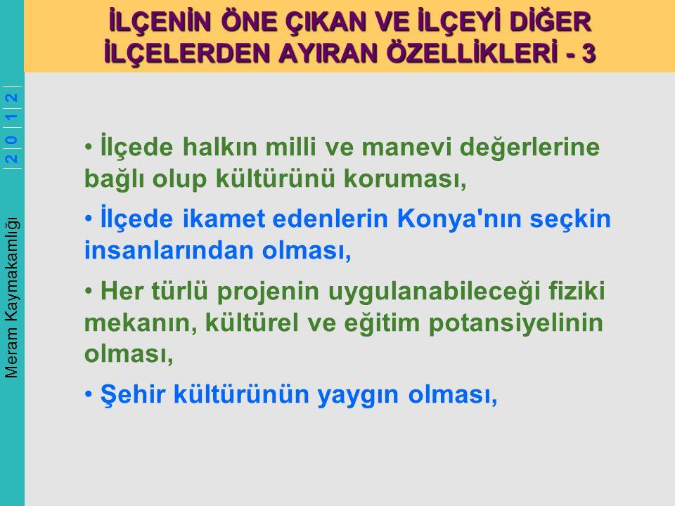 Meram Kaymakamlığı 2 0 1 2 SORUN ANALİZİ 8 - SAĞLIK