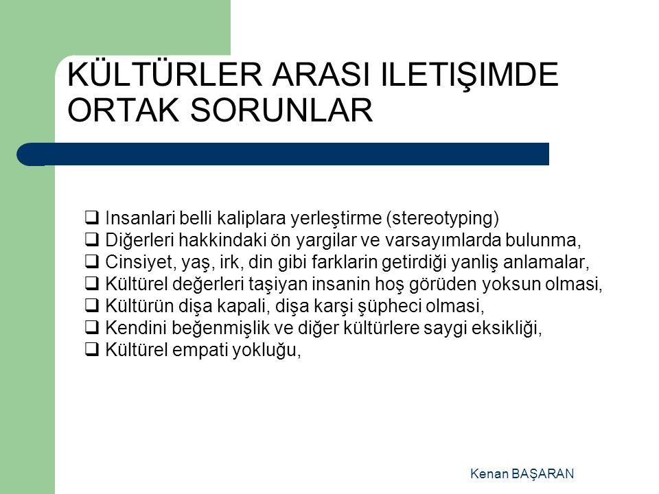 KÜLTÜR'ÜN BİLEŞENLERİ: DEĞERLER/VALUES : Belli bir kültüre göre belirlenmiş iyi – güzel – doğru olan ve sosyal yaşama yön veren standartlar.