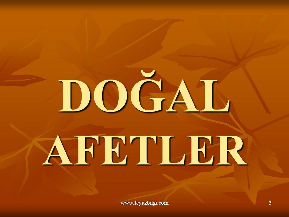 Hoş Geldiniz FEYAZ BİLGİ COĞRAFYA ÖĞRETMENİ SULTANBEYLİ KIZ ANADOLU İMAM-HATİP LİSESİ www.feyazbilgi.com2