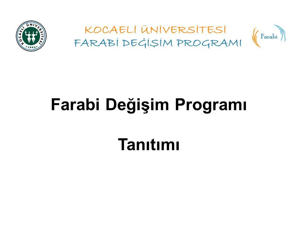 Farabi Değişim Programı Tanıtımı