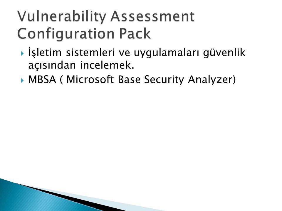  İşletim sistemleri ve uygulamaları güvenlik açısından incelemek.