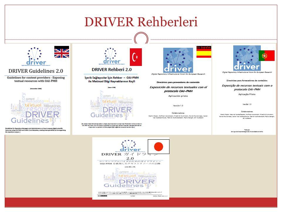 DRIVER Rehberleri