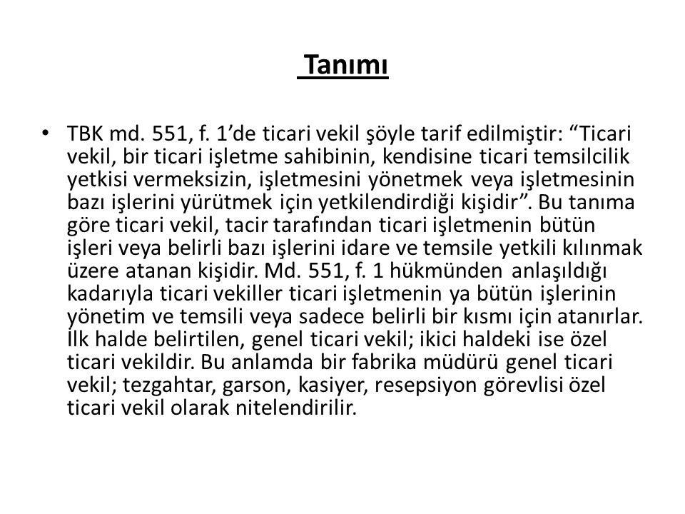 Tanımı TBK md.551, f.