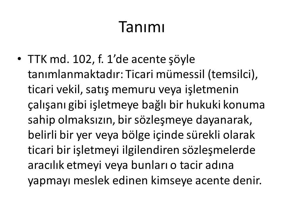 Tanımı TTK md.102, f.