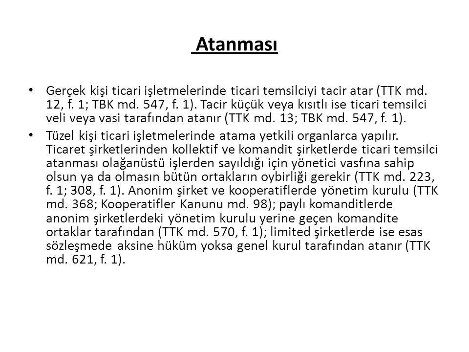 Sona Erme ve Zamanaşımı TTK md.