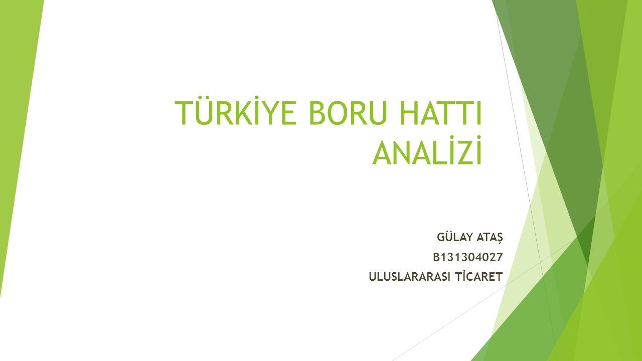 Türkiye – Yunanistan – İtalya Doğalgaz Boru Hattı Projesi (ITGI)