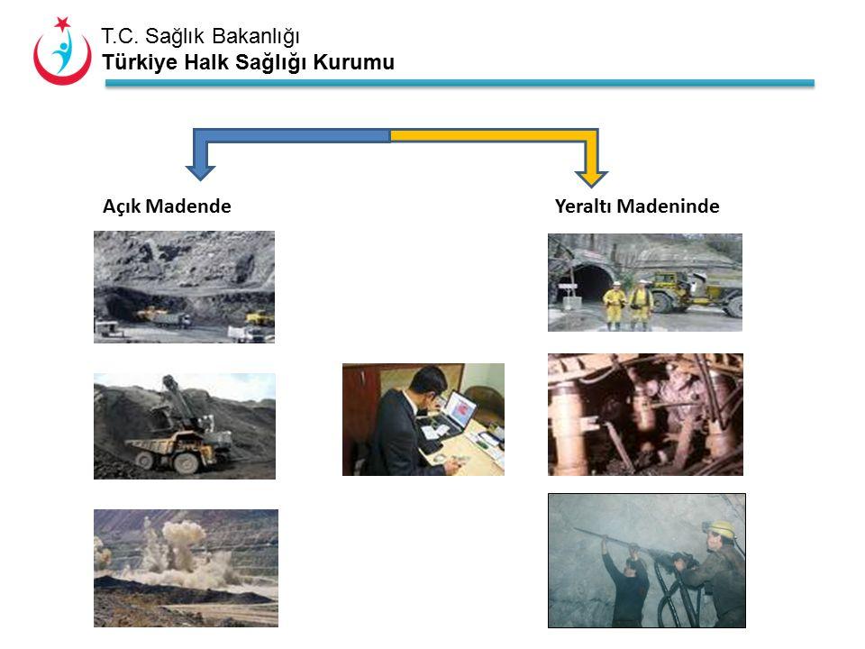T.C. Sağlık Bakanlığı Türkiye Halk Sağlığı Kurumu Açık Madende Yeraltı Madeninde