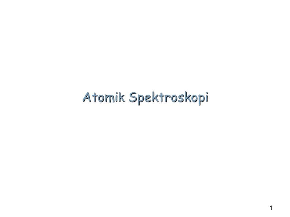 1 Atomi k Spektroskopi