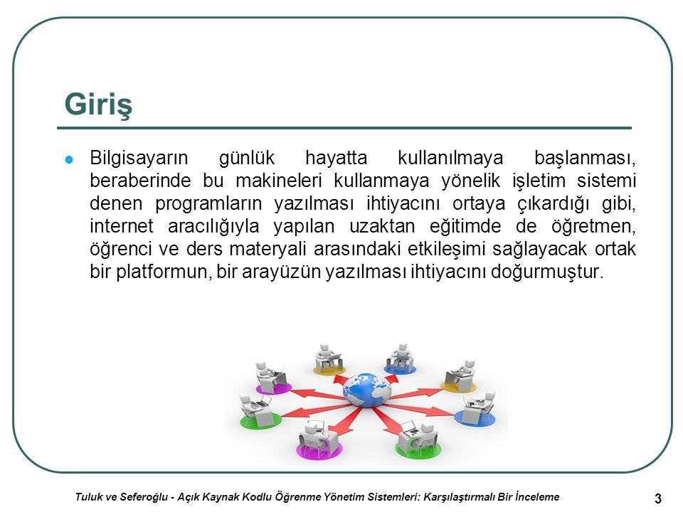 44 ATutor ÖYS Yazılımı (2) ÖYS/SCORM standartlarını destekler.
