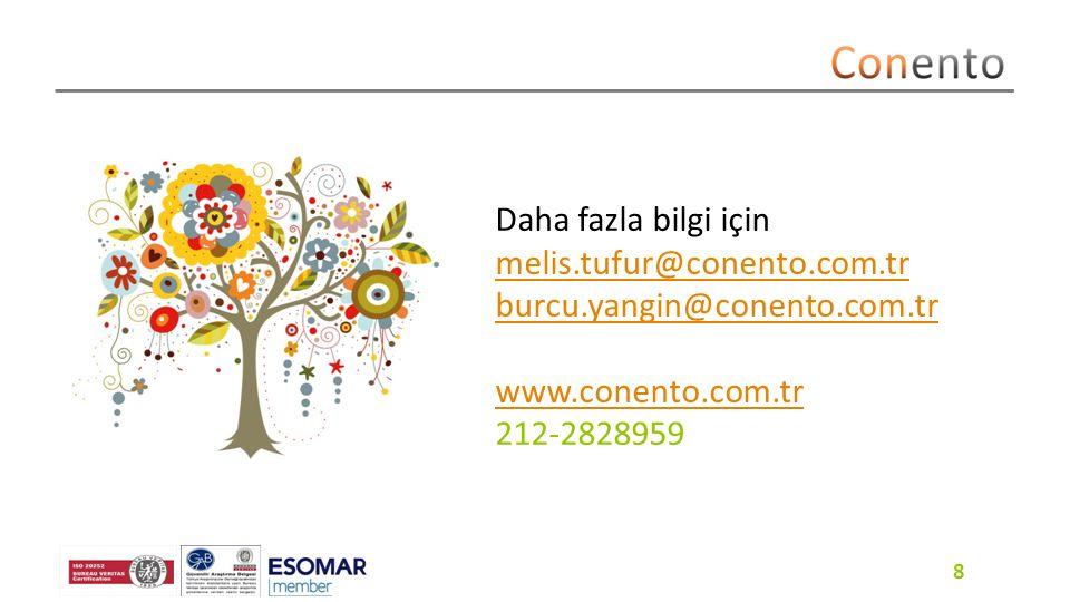 8 Daha fazla bilgi için melis.tufur@conento.com.tr burcu.yangin@conento.com.tr www.conento.com.tr 212-2828959 Artist: Andy Farr 8