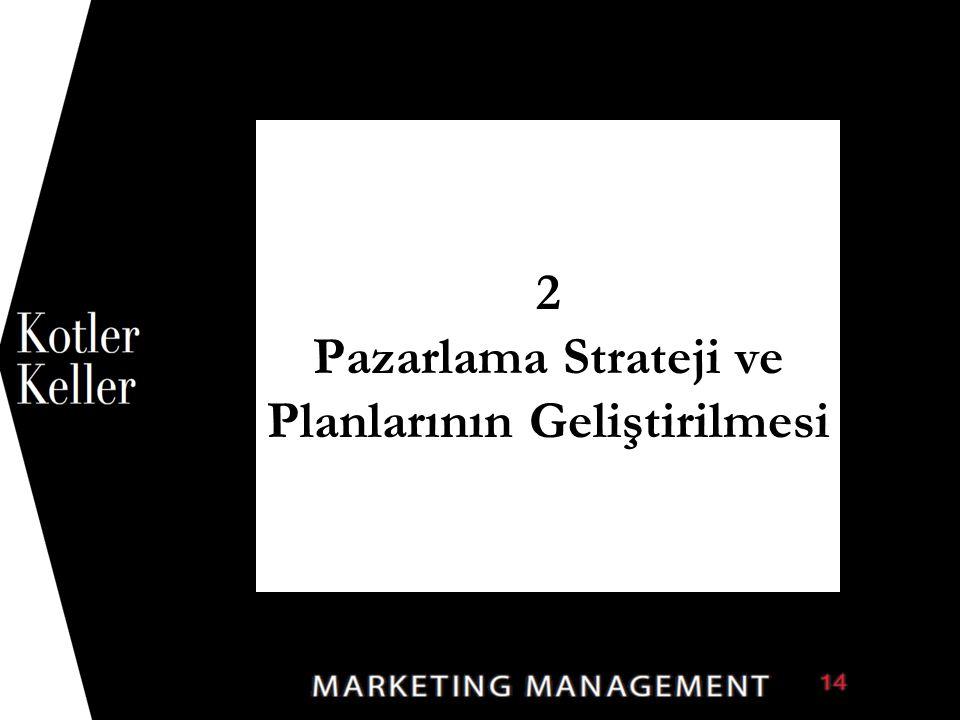 2 Pazarlama Strateji ve Planlarının Geliştirilmesi 1