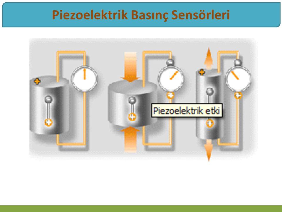 Piezoelektrik Basınç Sensörleri