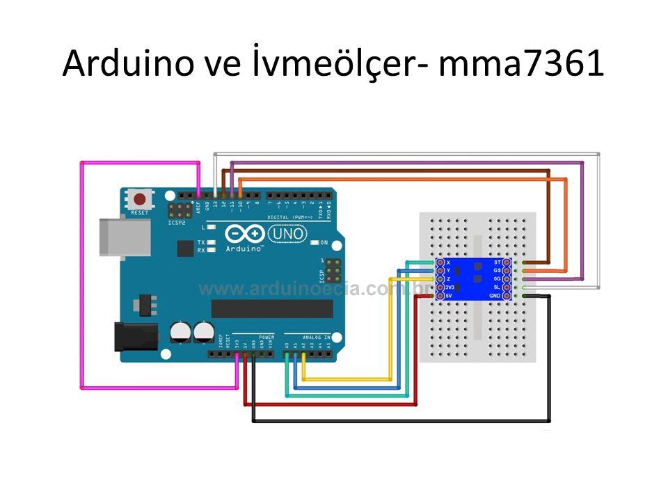 Arduino ve İvmeölçer- mma7361