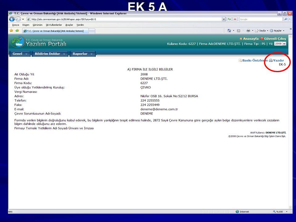 EK 5 A