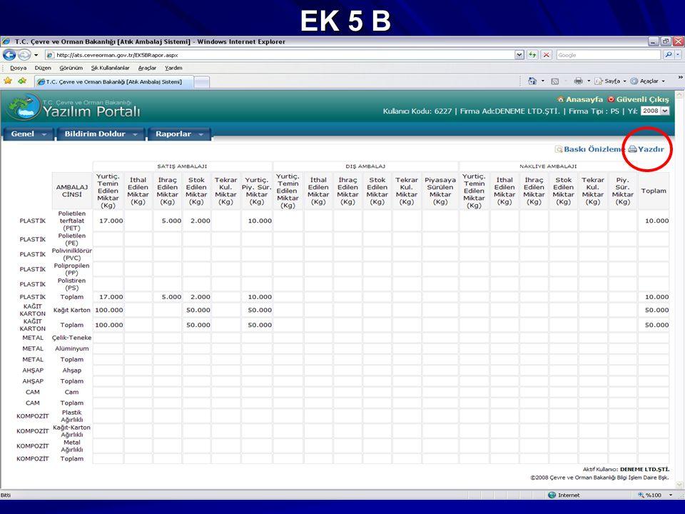 EK 5 B