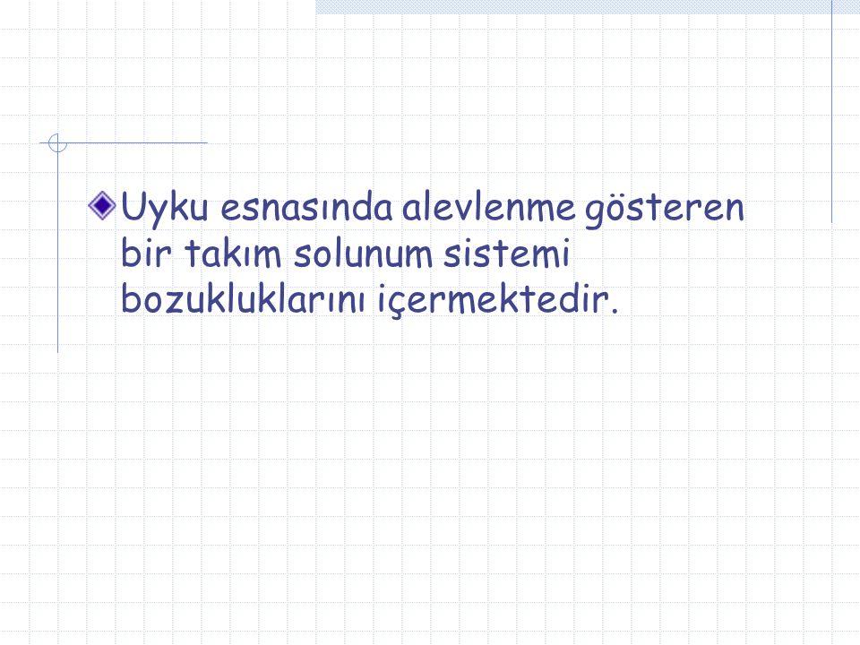 Diğer tanı yöntemleri Anket (Brouilette ve ark) Ses kaydı (audiotaping) Görüntü kaydı (videotaping) Nabız oksimetresi