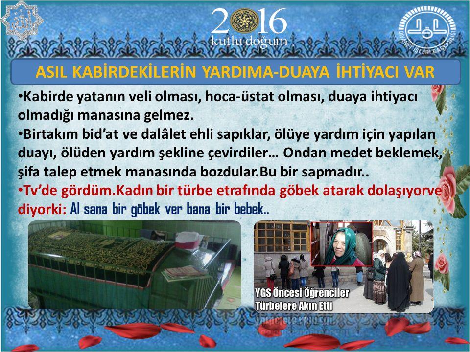 Bursa'da tezveren dede türbesi var mesela..