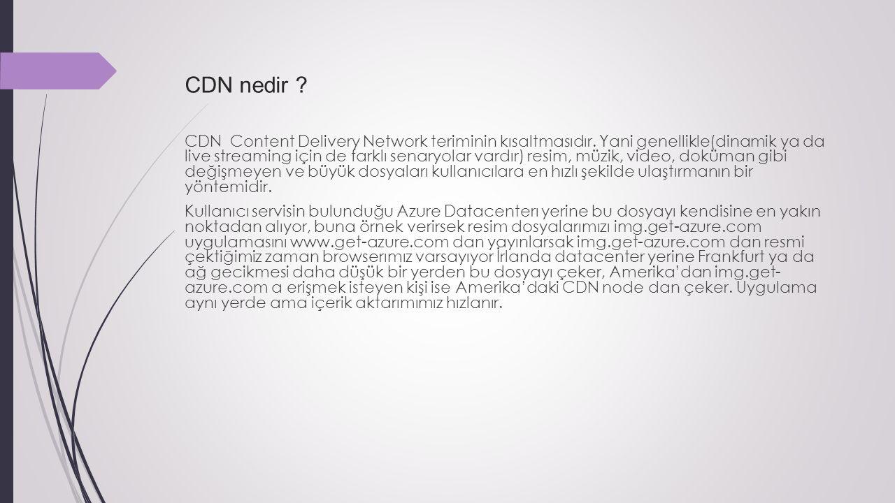 CDN nedir . CDN Content Delivery Network teriminin kısaltmasıdır.