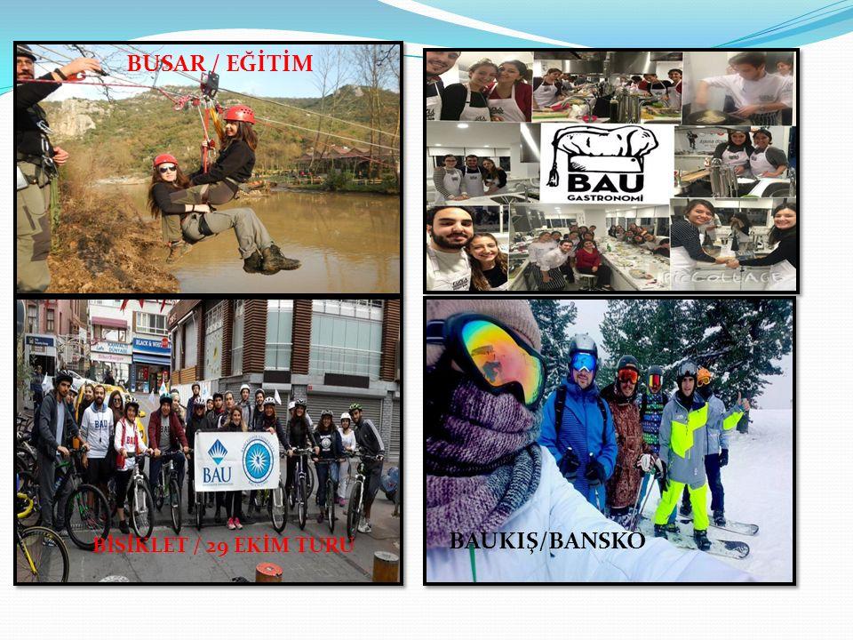 BAUKIŞ/BANSKO BUSAR / EĞİTİM BİSİKLET / 29 EKİM TURU