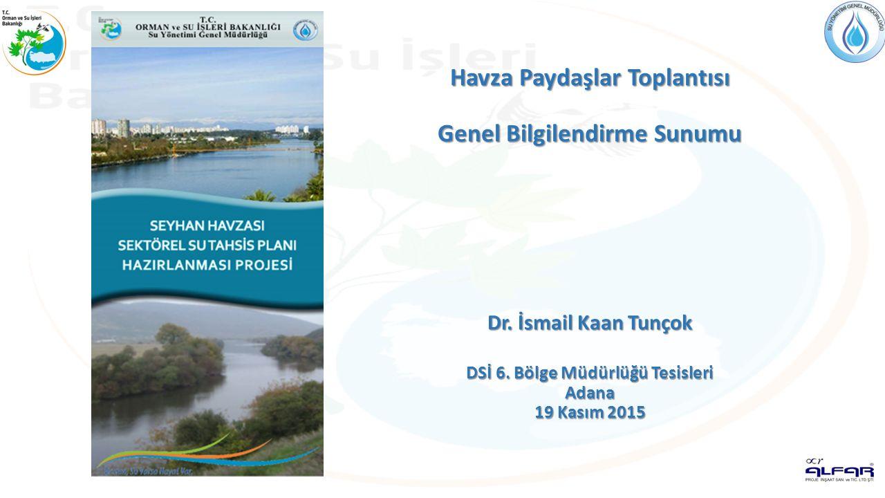 YENİ SU KANUNUNUN GETİRİLERİ - II 10.Ulusal Su Planı Hazırlanması 11.Su Yönetimi Üst Kurulu nun Oluşturulması 12.Doğal Mineralli Suların Su Kanunu Kapsamına Alınması 13.Ulusal Su Bilgi Sisteminin Kurulması 14.Alıcı Ortam Bazlı Deşarj Standardı 15.Su Kullanımında ve Su Yapılarının İnşasında Doğal Hayatın Dikkate Alınması 16.Suyu Usulsüz Kullanan ve Kirletenlere Caydırıcı Ceza 17.AB Su Çerçeve Direktifine Uyumun Sağlanması