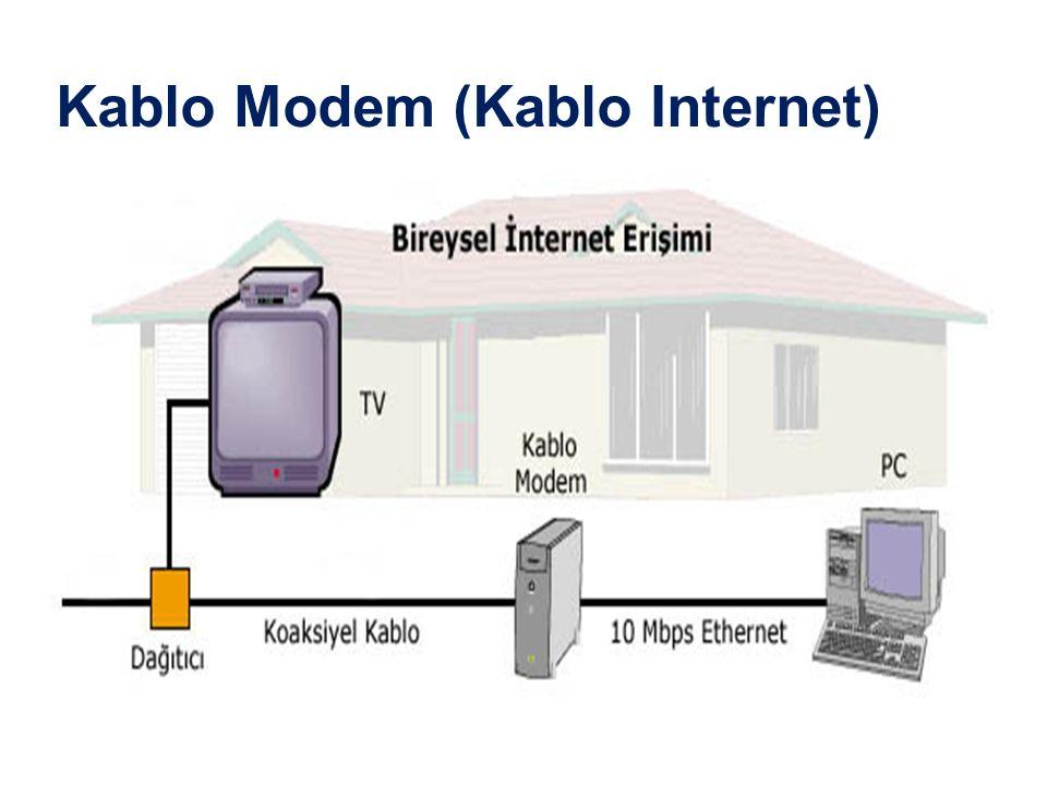 Kablo Modem (Kablo Internet)