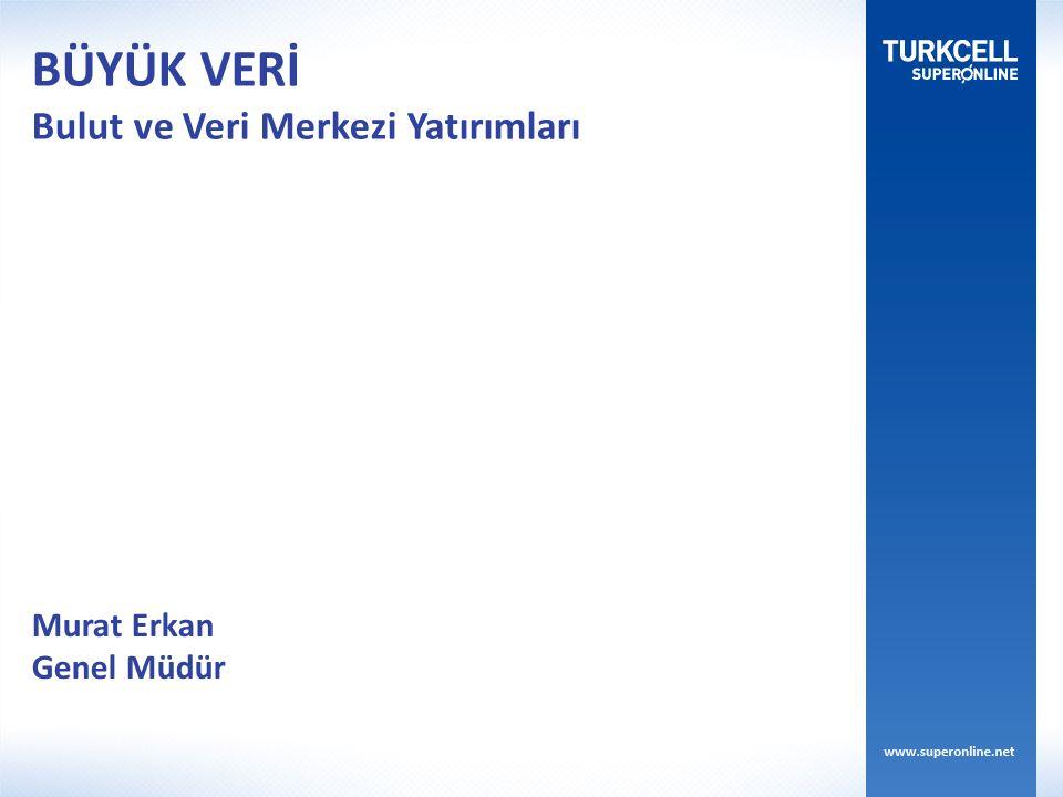 Murat Erkan Genel Müdür BÜYÜK VERİ Bulut ve Veri Merkezi Yatırımları